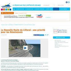 La Nouvelle Route du Littoral : une priorité pour les Réunionnais