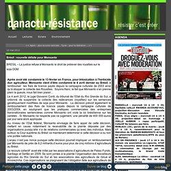 Brésil : nouvelle défaite pour Monsanto