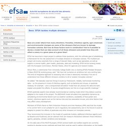 EFSA 25/06/15 Bees: EFSA tackles multiple stressors