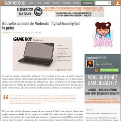 Nouvelle console de Nintendo: Digital Foundry fait le point - Supakawa !!!!!!!!!