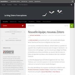 Nouvelle équipe, nouveau Zotero – Le blog Zotero francophone
