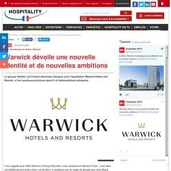Warwick dévoile une nouvelle identité et de nouvelles ambitions