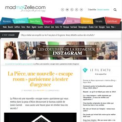 La Pièce, une nouvelle «escape room » parisienne à tester d'urgence