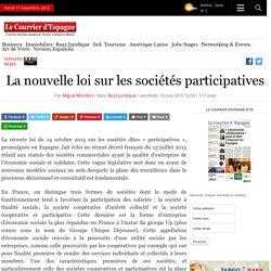 La nouvelle loi sur les sociétés participatives