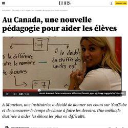 """La """"classe à l'envers"""", petite révolution pédagogique au Canada"""