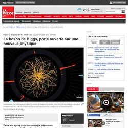 Le boson de Higgs, porte ouverte sur une nouvelle physique