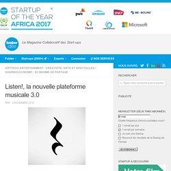 Listen!, la nouvelle plateforme musicale 3.0
