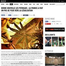 La France a fait un pas de plus vers la légalisation
