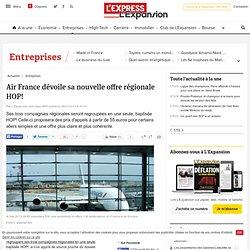 La fin de la maîtrise de la diffusion (Air France dévoile sa nouvelle offre régionale HOP!)