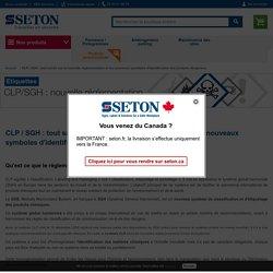CLP / SGH : nouvelle réglementation