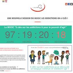 Une nouvelle session du MOOC Les addictions en 6 clés ! – Oppelia
