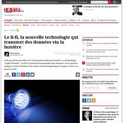 Le li-fi, la nouvelle technologie qui transmet des données via la lumière - Sciences