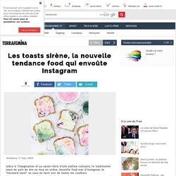 Les toasts sirène, la nouvelle tendance food qui envoûte Instagram - Free Aktu - Version mobile