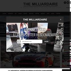 La nouvelle Aston Martin Vantage S Roadster