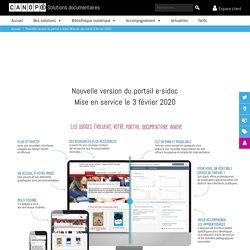 Site de Canopé : présentation rapide et générale du nouveau portail