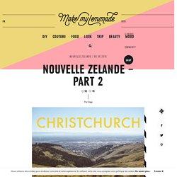 Nouvelle Zelande – Part 2