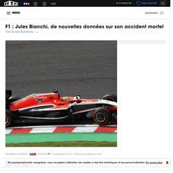F1 : Jules Bianchi, de nouvelles données sur son accident mortel - Automoto