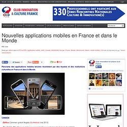 13 – Nouvelles applications mobiles pour les musées