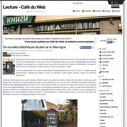 De nouvelles bibliothèques de plein-air en Allemagne