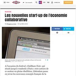 Les nouvelles start-up de l'économie collaborative