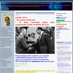 Blog du plan C Etienne CHOUARD