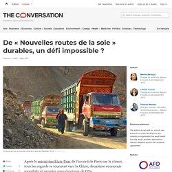 De «Nouvelles routes delasoie» durables, undéfi impossible?