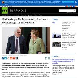 Nouvelles preuves de l'espionnage de la NSA en Allemagne