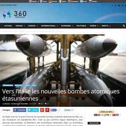 Vers l'Italie les nouvelles bombes atomiques étasuniennes