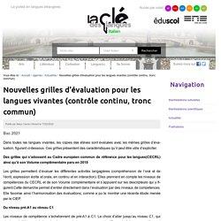 Nouvelles grilles d'évaluation pour les langues vivantes (contrôle continu, tronc commun) — Italien