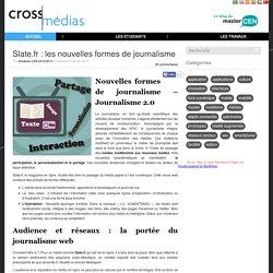 Slate.fr : les nouvelles formes de journalisme