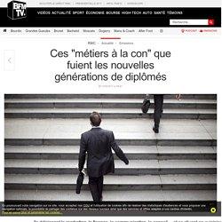 Ces « métiers à la con » que fuient les nouvelles générations de diplômés