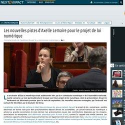 Les nouvelles pistes d'Axelle Lemaire pour le projet de loi numérique
