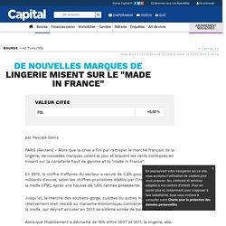 """De nouvelles marques de lingerie misent sur le """"made in France"""""""