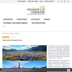 France Urbaine – métropoles, agglos et grandes villes