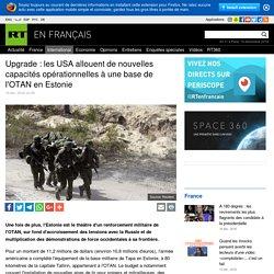 les USA allouent de nouvelles capacités opérationnelles à une base de l'OTAN en Estonie