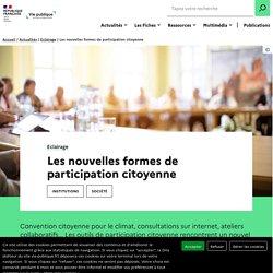 Les nouvelles formes de participation citoyenne