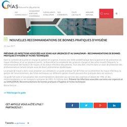 Nouvelles recommandations de bonnes pratiques d'hygiène - CPIAS Nouvelle Aquitaine