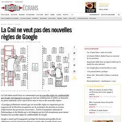 La Cnil ne veut pas des nouvelles règles de Google