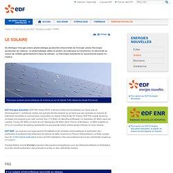 Le solaire - Énergies nouvelles et renouvelables