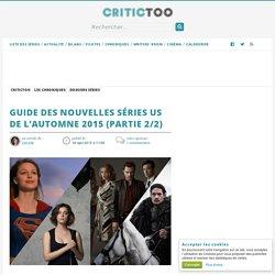 Guide des nouvelles séries US de l'automne 2015 (Partie 2/2)