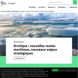 Arctique : nouvelles routes maritimes, nouveaux enjeux stratégiques