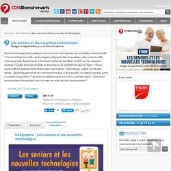 Etude Les seniors et les nouvelles technologies CCM Benchmark Group - 08/03/17