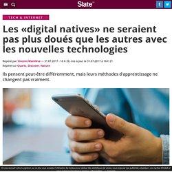 Les «digital natives» ne seraient pas plus doués que les autres avec les nouvelles technologies