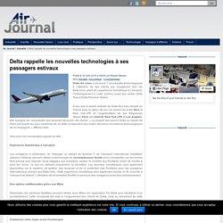 Delta rappelle les nouvelles technologies à ses passagers estivaux