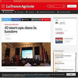 Nouvelles technologies : 10 start-ups dans la lumière