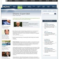 Dreams: Expert Q&A