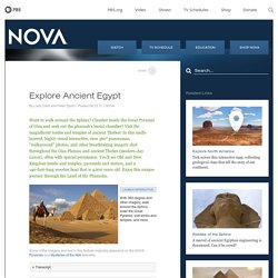 NOVA | Explore Ancient Egypt