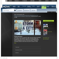 Storm That Drowned a City