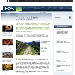 The Lost Inca Empire