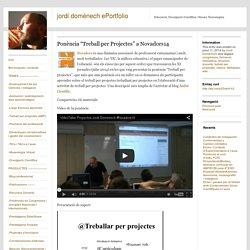 """Ponència """"Treball per Projectes"""" a Novadors14"""